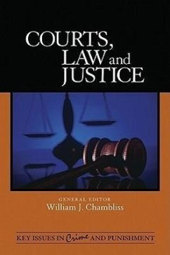 Courts, Law, and Justice - Herausgeber: Chambliss, William J.