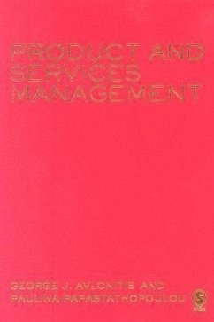 Product and Services Management - Avlonitis, George J. Papastathopoulou, Paulina