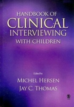Handbook of Clinical Interviewing with Children - Hersen, Michel Thomas, Jay C.