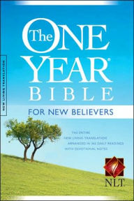 One Year Bible for New Believers-NLT - Livingstone