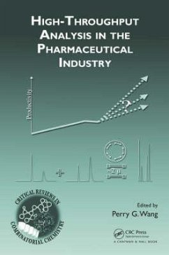 High-Throughput Analysis in the Pharmaceutical Industry - Wang, Perry G.
