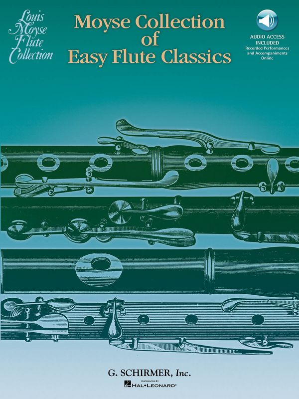 Moyse Collection of easy Flute
