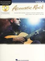Acoustic Rock: Instrumental Play-Along for Viola