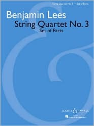 String Quartet No. 3: Set of Parts - Benjamin Lees