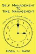 Self Management to Time Management