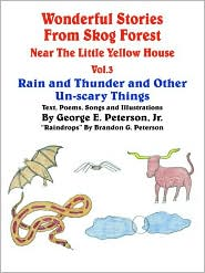 Wonderful Stories from Skog Forest Near the Little Yellow House, Volume 3: Rain and Thunder and Other Un-scary Things - George E. Peterson Jr.