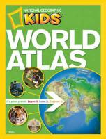 """""""National Geographic"""" Kids World Atlas (National Geographic Kids)"""