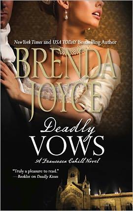 Deadly Vows (Francesca Cahill Series #9) - Brenda Joyce