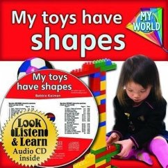 My Toys Have Shapes - CD + Hc Book - Package - Kalman, Bobbie