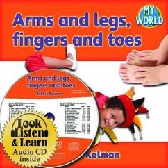 Arms and Legs, Fingers and Toes - CD + PB Book - Package - Kalman, Bobbie