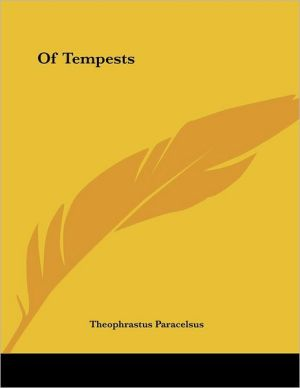 Of Tempests