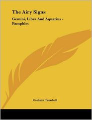 AIRY Signs: Gemini, Libra and Aquarius - Pamphlet - Coulson Turnbull