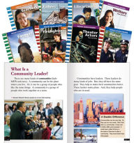Careers in the Community II Set: 8 Titles - Teacher Created Materials
