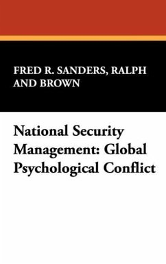 National Security Management - Sanders, Ralph and Brown Fred R.