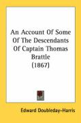 An Account of Some of the Descendants of Captain Thomas Brattle (1867)