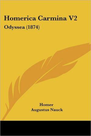 Homerica Carmina V2: Odyssea (1874)
