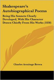 Shakespeare's Autobiographical Poems - Charles Armitage Brown