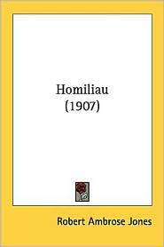 Homiliau (1907) - Robert Ambrose Jones