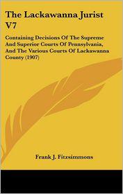 The Lackawanna Jurist V7 - Frank J. Fitzsimmons