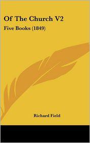 Of The Church V2 - Richard Field