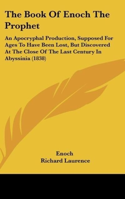 The Book Of Enoch The Prophet als Buch von Enoch - Enoch
