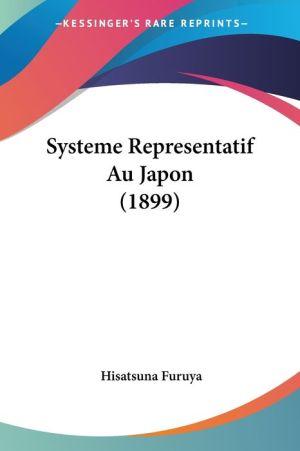 Systeme Representatif Au Japon (1899)