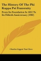 History of the Phi Kappa Psi Fraternity - Charles Liggett Van Cleve
