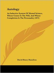 Autology - David Henry Hamilton
