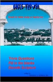 Bible Trivia: Great for Bible Study or Family Fun - Emanuel Norman
