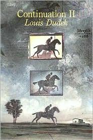 Continuation II - Louis Dudek