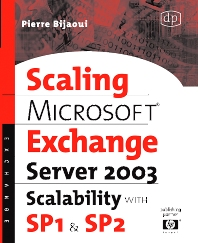 Microsoft® Exchange Server 2003 Scalability with SP1 and SP2