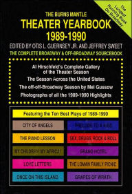 The Best Plays of 1989-1990: The Complete Broadway and off-Broadway Sourcebook - Hal Leonard Corp.