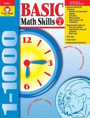 Basic Math Skills Grade 2 - Evan-Moor Educational Publishers, Moore