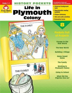 History Pockets, Life in Plymouth Colony - Evan-Moor Educational Publishers
