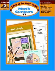 Take It to Your Seat Math Centers, Grades 3-4 - Evan-Moor Educational Publishers