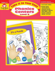 Take It to Your Seat Phonics Centers - Level D, Grades 2-3 - Evan-Moor Educational Publishers