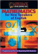 Mathematics for New Speakers of English - Manufactured by Saddleback Publishing