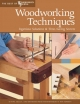 Woodworking Techniques -