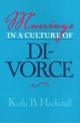Marriage in a Culture of Divorce - Karla B. Hackstaff