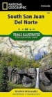 South San Juan/Del Norte - National Geographic Maps - Trails Illustrated