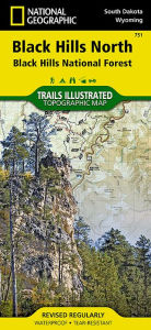 Black Hills North: Trails Illustrated Map - National Geographic