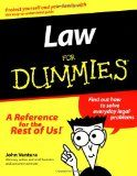 Law for Dummies. (For Dummies (Lifestyles Paperback)) - Ventura, John