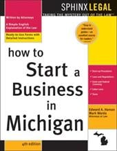 How to Start a Business in Michigan, 4e - Haman, Edward A.