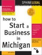 How to Start a Business in Michigan, 4e