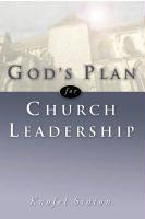 God's Plan for Church Leadership
