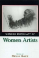 Concise Dictionary of Women Artists - Delia Gaze