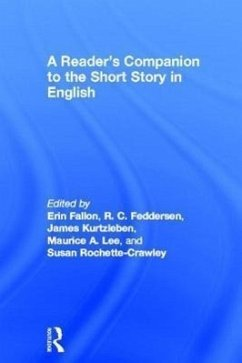 A Reader's Companion to the Short Story in English - Gilchrist, Paige Fallon, Fedderse