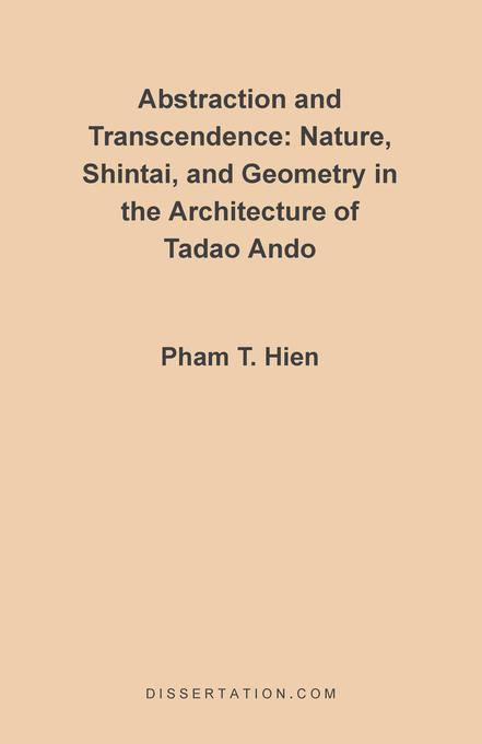 Abstraction and Transcendence als Buch von Pham Thanh Hien - Dissertation.Com.