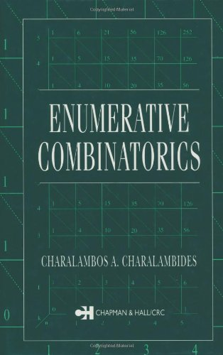 Enumerative Combinatorics (CRC Press Series on Discrete Mathematics and Its Application)  Auflage: 2002. - Charalambides, Ch A., C. a. Charalambides and Charalambos A. Charalambides