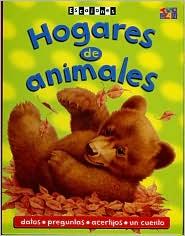 Hogares de Animales (Escalones Series) - Sally Hewitt, Inga Phipps, James Evans (Illustrator), Fiametta Dogi (Illustrator)